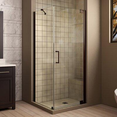 "Elegance 72"" H x 34"" W x 34"" D Pivot Shower Enclosure with Hardware Product Photo"