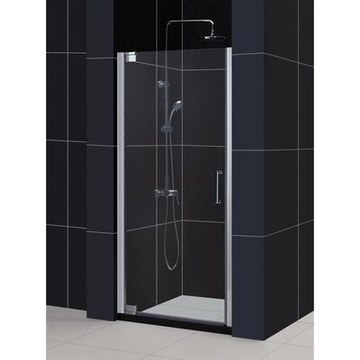 "Elegance 72"" x 34.25"" Pivot Frameless Shower Door Product Photo"
