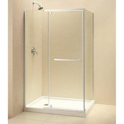 Glass Pivot Door Shower Enclosure