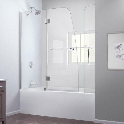 "Aqua 58"" x  60"" Pivot Hinged Tub Door with Hardware Product Photo"