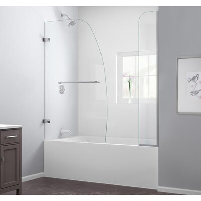 "Aqua Uno 58"" x 60"" Pivot Hinged Tub Door with Hardware Product Photo"