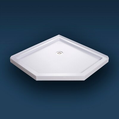 "SlimLine 38"" x 38"" Neo-Angle Shower Tray Product Photo"