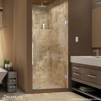 """UniDoor Plus 72"""" x 36.5"""" Pivot Hinged Shower Door with Hardware Product Photo"""
