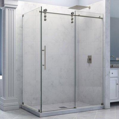 Dreamline enigma z 34 1 2 by 60 3 8 fully frameless for Fully enclosed shower