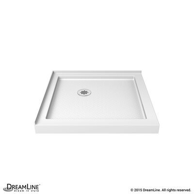 "SlimLine 32"" by 32"" Double Threshold Shower Base Product Photo"