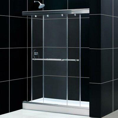 "Charisma 72"" x 60"" Sliding Frameless Shower Door Product Photo"