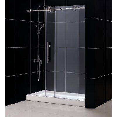 "Enigma-X 76"" x 48"" Sliding Fully Frameless Shower Door Product Photo"