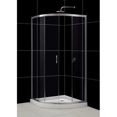 Solo Shower Enclosure and SlimLine Shower Base Product Photo