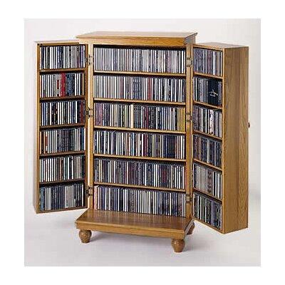 Leslie Dame Enterprises 612 Series Door Multimedia Storage Cabinet