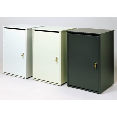 Witt Secure Document Container 36-Gal Platinum Series Side Entry Receptacle