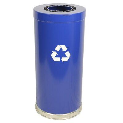 Witt Metal Recycling 24-Gal Single Stream Industrial Recycling Bin