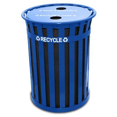 Witt Oakley 36-Gal Outdoor Industrial Recycling Bin