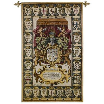 Fine Art Tapestries Armes Of Kings Tapestry