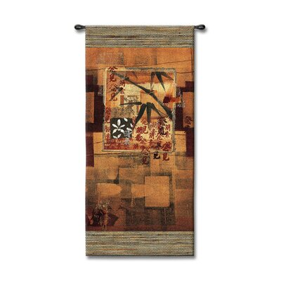 Fine Art Tapestries Abstract Bamboo Inspirations I by McCoy Tapestry