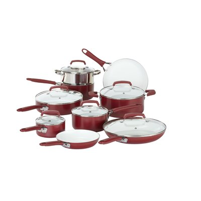 Pure Living 15 Piece Cookware Set by WearEver