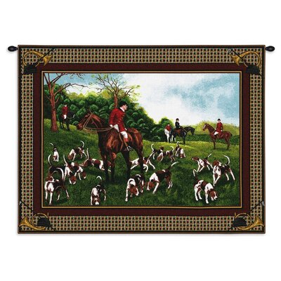 Pure Country Weavers Fox Hunt Tapestry