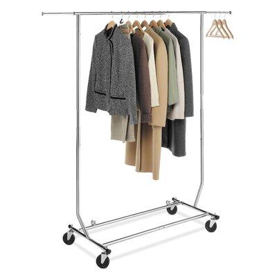 Commercial Folding Garment Rack Product Photo