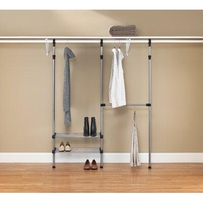 "10"" Deep Closet Rod System (Set of 2) Product Photo"