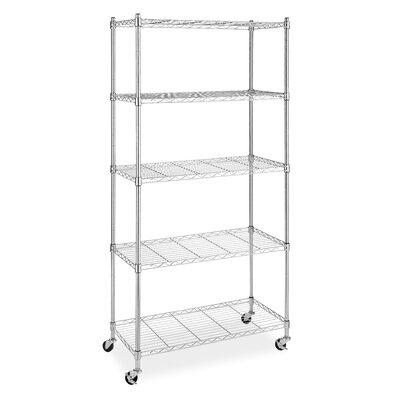 """Whitmor, Inc Supreme 60"""" 5 Shelf Shelving Unit"""