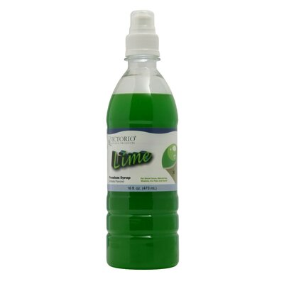 Victorio Lime Premium Syrup