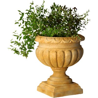 Round Urn Planter by OrlandiStatuary
