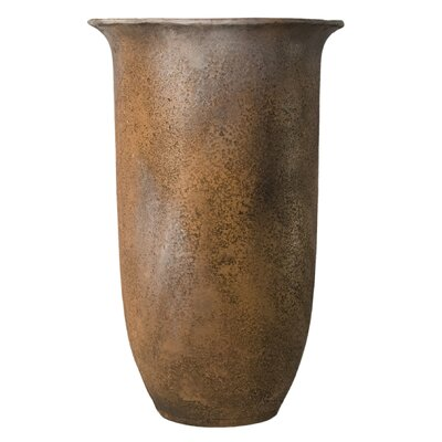 Tall Round Pot Planter by OrlandiStatuary