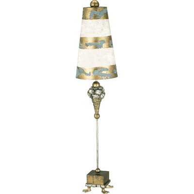 "Flambeau Lighting Pompadour Luxe 40"" H Table Lamp with Empire Shade"