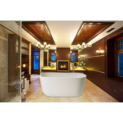 "PureScape 60.63"" x 26.77"" Soaking Bathtub Product Photo"