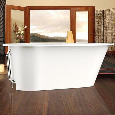 "Inflection 61.5"" x 29.5"" Soaking bathtub Product Photo"