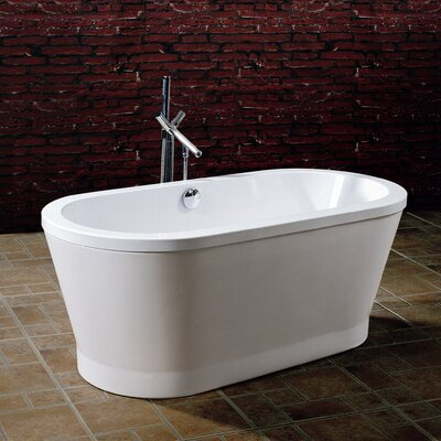 "PureScape 59"" x 28"" Freestanding Acrylic Bathtub Product Photo"
