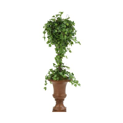 Distinctive Designs Silk Ivy Ball Topiary in Urn