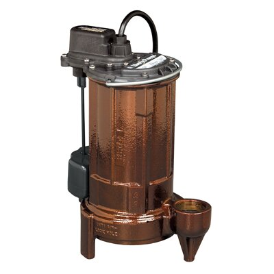 Liberty Pumps 1/2 HP Cast Iron Submersible Sump Pump