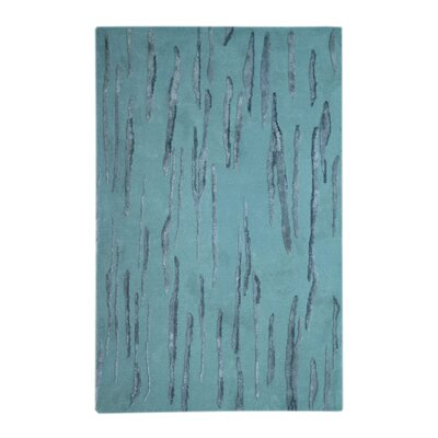 Citadel Light Blue Rug by Noble House