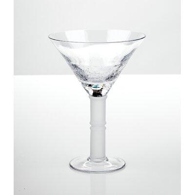 IMPULSE! Crackle Martini Glass
