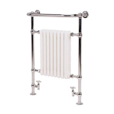 Isbourne Floor Mount / Wall Mount Hydronic/ ElectricTowel Warmer by Artos