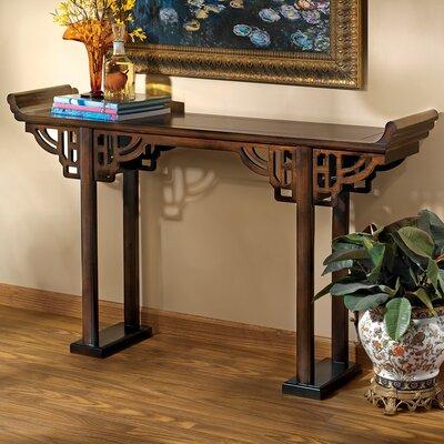 Forbidden City Asian Console Table by Design Toscano