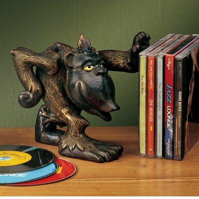 Design Toscano Gordie the Gorilla Helping Hand Book Ends Figurine