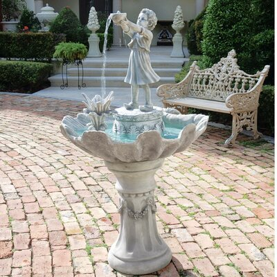 Resin L'Acqua di Vita Sculptural Fountain by Design Toscano