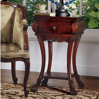 Loire Hourglass End Table by Design Toscano