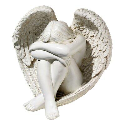 Serene Solitude Angel Statue by Design Toscano