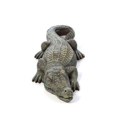 Design Toscano The Swamp Beast Crocodile Statue