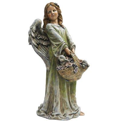 Joy The Flower Angel Statue by Design Toscano