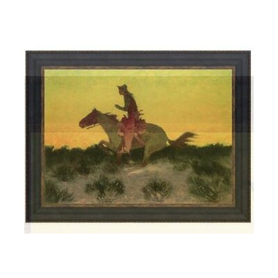 Against the Sunset 1906 Framed Painting by Design Toscano