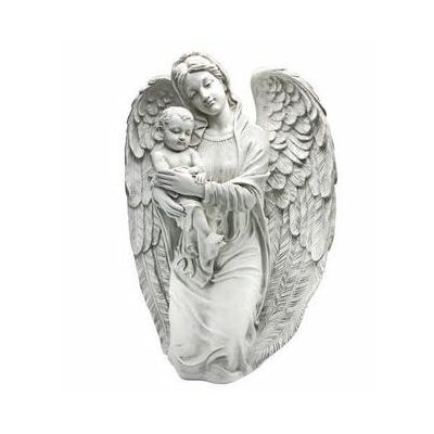 Devoted Protector Guardian Angel Statue by Design Toscano