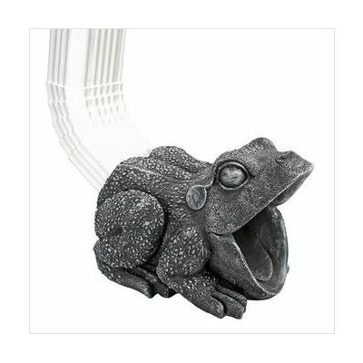 Frog Gutter Guardian Downspout Sculpture by Design Toscano