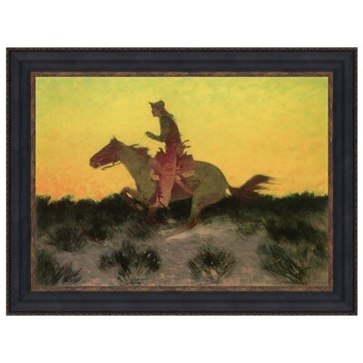 Against the Sunset, 1906 Framed Original Painting by Design Toscano