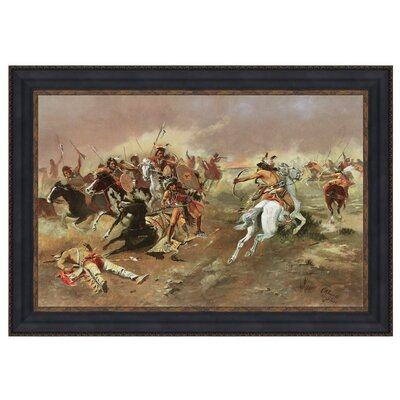 For Supremacy, 1895 Framed Original Painting by Design Toscano