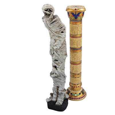 Curse of the Pharaohs Mummy Statue by Design Toscano