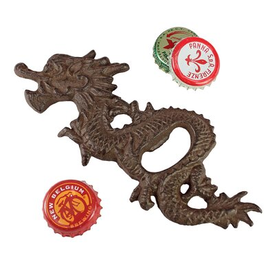 Asian Dragon Far East Cast Iron Bottle Opener by Design Toscano