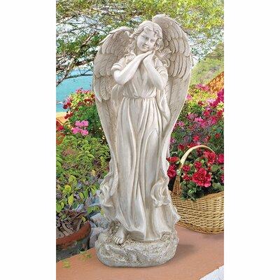 Constance's Conscience Garden Angel Statue by Design Toscano